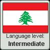 Lebanese Arabic language level INTERMEDIATE by TheFlagandAnthemGuy