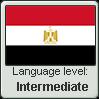 Egyptian Arabic language level INTERMEDIATE by TheFlagandAnthemGuy
