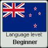 New Zealand English language level BEGINNER by TheFlagandAnthemGuy