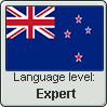 New Zealand English language level EXPERT by TheFlagandAnthemGuy