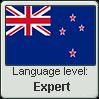 New Zealand English language level EXPERT by TheFlagandAnthemGuy