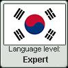 Korean language level EXPERT by TheFlagandAnthemGuy