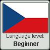 Czech language level BEGINNER