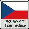 Czech language level INTERMEDIATE by TheFlagandAnthemGuy