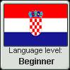 Croatian language level BEGINNER by TheFlagandAnthemGuy