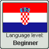 Croatian language level BEGINNER by TheFlagandAnthemGuy