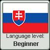 Slovak language level BEGINNER by TheFlagandAnthemGuy