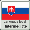 Slovak language level INTERMEDIATE by TheFlagandAnthemGuy