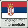 Serbian language level INTERMEDIATE by TheFlagandAnthemGuy