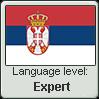 Serbian language level EXPERT by TheFlagandAnthemGuy