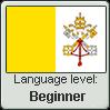 Ecclesiastic Latin language level BEGINNER by TheFlagandAnthemGuy
