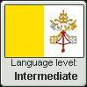 Ecclesiastic Latin language level INTERMEDIATE by TheFlagandAnthemGuy