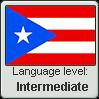 Puerto Rican Spanish language level INTERMEDIATE by TheFlagandAnthemGuy