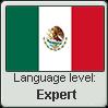 Mexican Spanish language level EXPERT