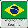 Brazilian Portuguese language level BEGINNER by TheFlagandAnthemGuy