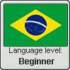 Brazilian Portuguese language level BEGINNER by TheFlagandAnthemGuy