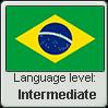Brazilian Portuguese language level INTERMEDIATE by TheFlagandAnthemGuy