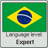 Brazilian Portuguese language level EXPERT by TheFlagandAnthemGuy