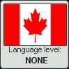 Canadian English language level NONE by TheFlagandAnthemGuy