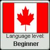 Canadian English language level BEGINNER by TheFlagandAnthemGuy