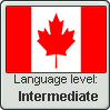 Canadian English language level INTERMEDIATE by TheFlagandAnthemGuy