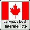 Canadian English language level INTERMEDIATE by TheFlagandAnthemGuy