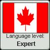 Canadian English language level EXPERT by TheFlagandAnthemGuy