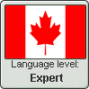 Canadian English language level EXPERT by TheFlagandAnthemGuy