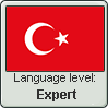 Turkish language level EXPERT by TheFlagandAnthemGuy