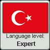 Turkish language level EXPERT