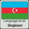 Azerbaijani language level BEGINNER by TheFlagandAnthemGuy