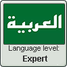 Arabic language level EXPERT by TheFlagandAnthemGuy