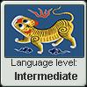 Taiwanese language level INTERMEDIATE