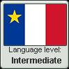 Acadian French language level INTERMEDIATE by TheFlagandAnthemGuy