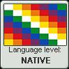 Aymara language level NATIVE by TheFlagandAnthemGuy