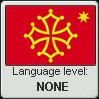 Occitan language level NONE