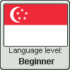 Singaporean Malay language level BEGINNER by TheFlagandAnthemGuy