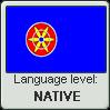 Kven language level NATIVE by TheFlagandAnthemGuy