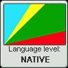 Huilliche language level NATIVE by TheFlagandAnthemGuy