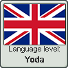 English language level YODA by TheFlagandAnthemGuy