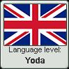 English language level YODA by TheFlagandAnthemGuy