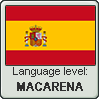 SPANISH language level MACARENA by TheFlagandAnthemGuy