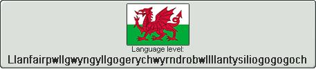 Welsh level Llanfairpwllgwyngyllgogerychwyrndrobwl by TheFlagandAnthemGuy