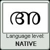 Mayalam language level NATIVE by TheFlagandAnthemGuy