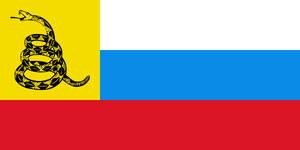 Gadsden Russia protest flag