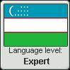Uzbek language level EXPERT by TheFlagandAnthemGuy