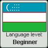 Uzbek language level BEGINNER by TheFlagandAnthemGuy