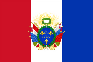 Flag for a Constitutional Kingdom of France