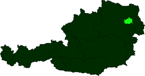 Austria Federal State Anthems map