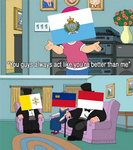 Fun with flags - Microstate meme